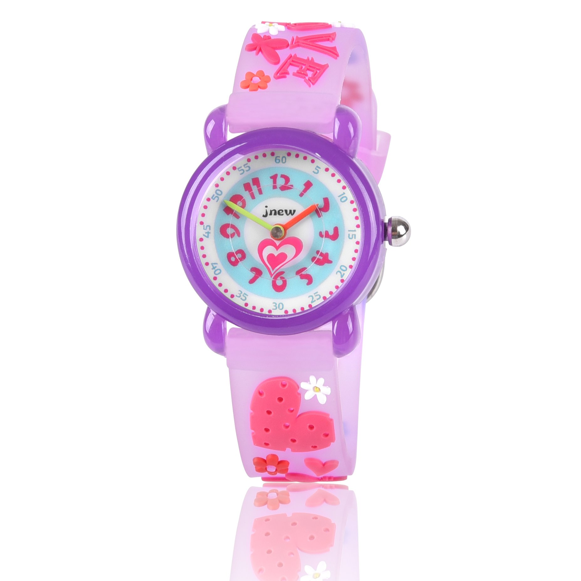 Gifts for 4 5 6 7 8 9 10 Year Old Girls, Mico Girl Watch Toys for 3-10 Year Old Girl Gift Birthday Present by Kids Gift (Image #1)