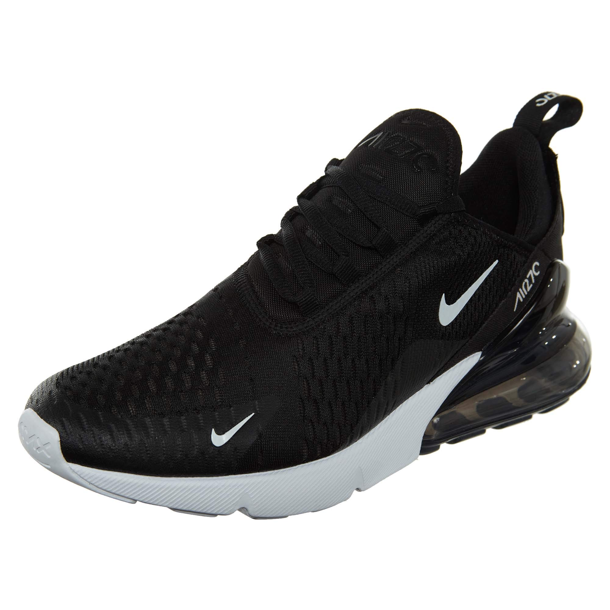 c90e7c68876 Galleon - Nike Mens Air Max 270 Running Shoes Black White Solar Red  Anthracite AH8050-002 Size 12