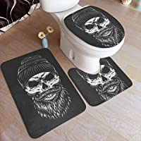 tapis de bain tête de mort 5