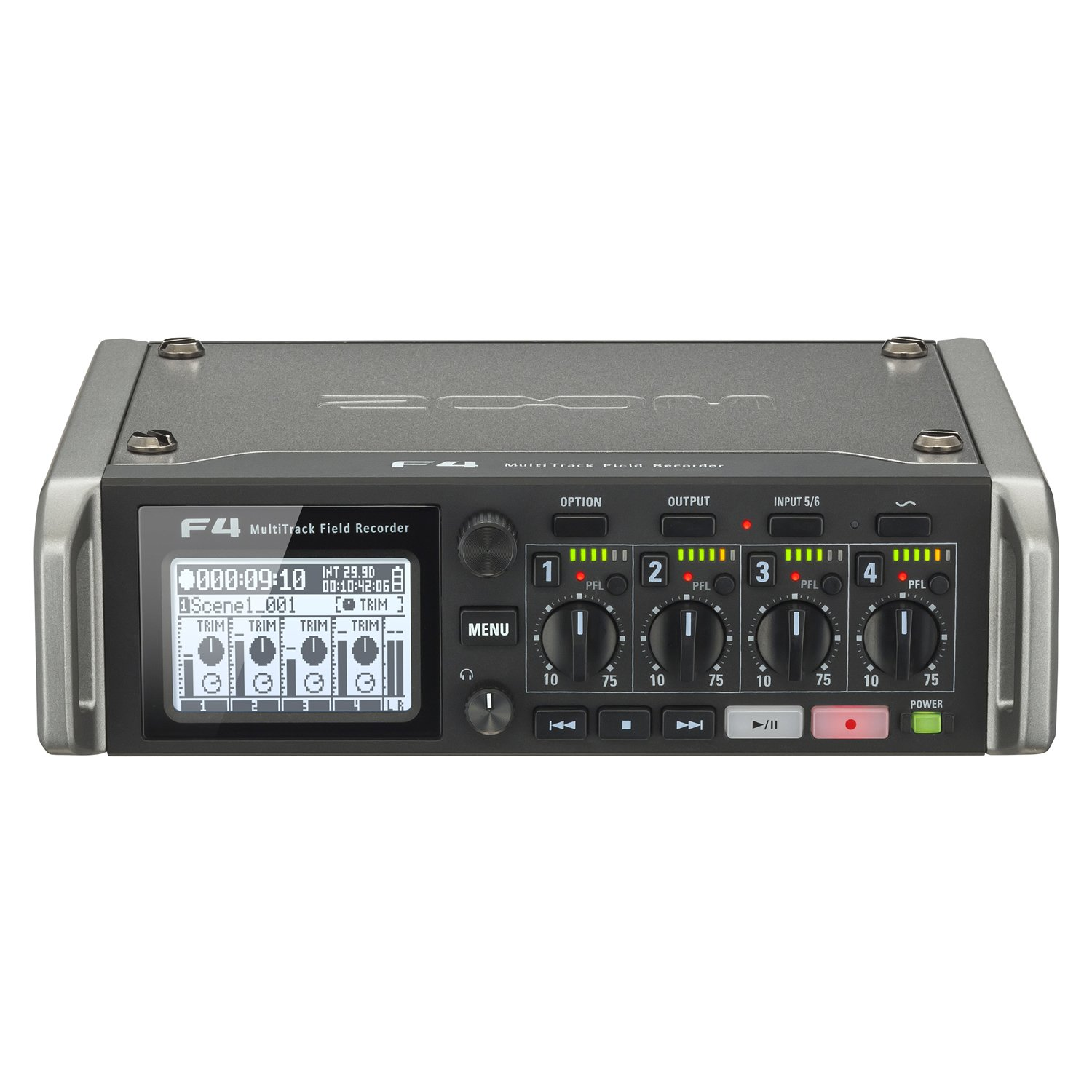 Zoom F4 MultiTrack Field Recorder Bundle with Zoom FRC-8 F-Control Mixing Control Surface by Zoom (Image #1)