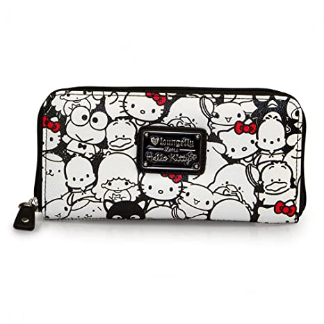 loun gefly Loves Hello Kitty Mujer XL CARTERA – Best Friends Pebble Cartera