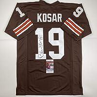 $114 » Autographed/Signed Bernie Kosar Cleveland Brown Football Jersey JSA COA