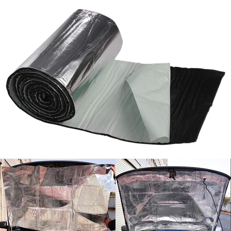 Allright 2,5m/² Alubutyl D/ämmmatte Auto Selbstklebend Anti-Dr/öhn Kein Bitumen Matte 50 x 500 cm Auto T/ür HiFi