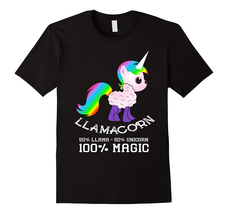 100% Llamacorn Shirt Funny Cute Llama Unicorn Shirt Gifts-TH