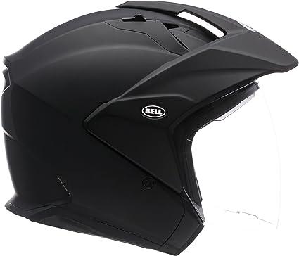 Bell Unisex (7000713) Solid Matte Black MAG-9 Open-Face, D.O.T