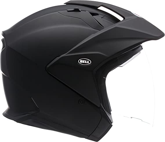Amazon.com: Bell Unisex (7000713) Solid Matte Black MAG-9 Open-Face, D.O.T-Certified Street Helmet-Adult Size M, Medium: Automotive