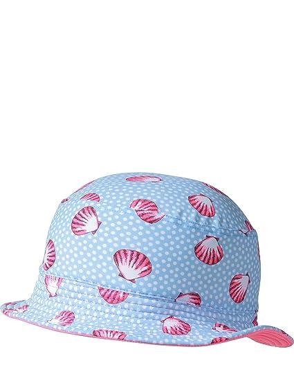 fe73a3f6fc5 Platypus Australia Baby UPF50+ Bucket Hat - Seashell - XS   49 cm Blue