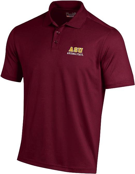 "Auburn Tigers Under Armour NCAA /""Passing/"" Men/'s Performance Polo Shirt"