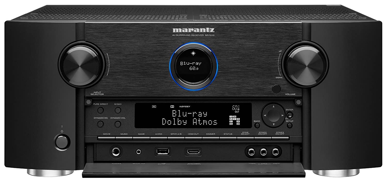 Marantz Sr7010 92 Channel Full 4k Ultra Hd Av Surround Circuit Boards The Radio Reflection Billy Cart Receiver With Bluetooth Wi Fi Electronics