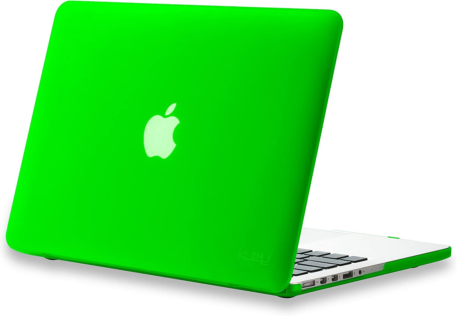 Kuzy Compatible with MacBook Pro 13.3 inch Case A1502, A1425 Release 2015-2012 Soft Touch Plastic Hard Shell Cover for Older Version MacBook Pro 13 inch, Green