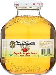 Martinelli's Organic Juice - Apple - Case of 12 - 10 oz.
