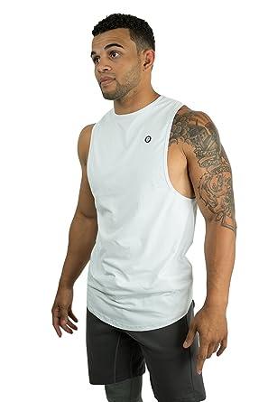58a0524e7d Onthec Mens Cut Off Fitness Tank Tops Gym Workout Bodybuilding Vest ...