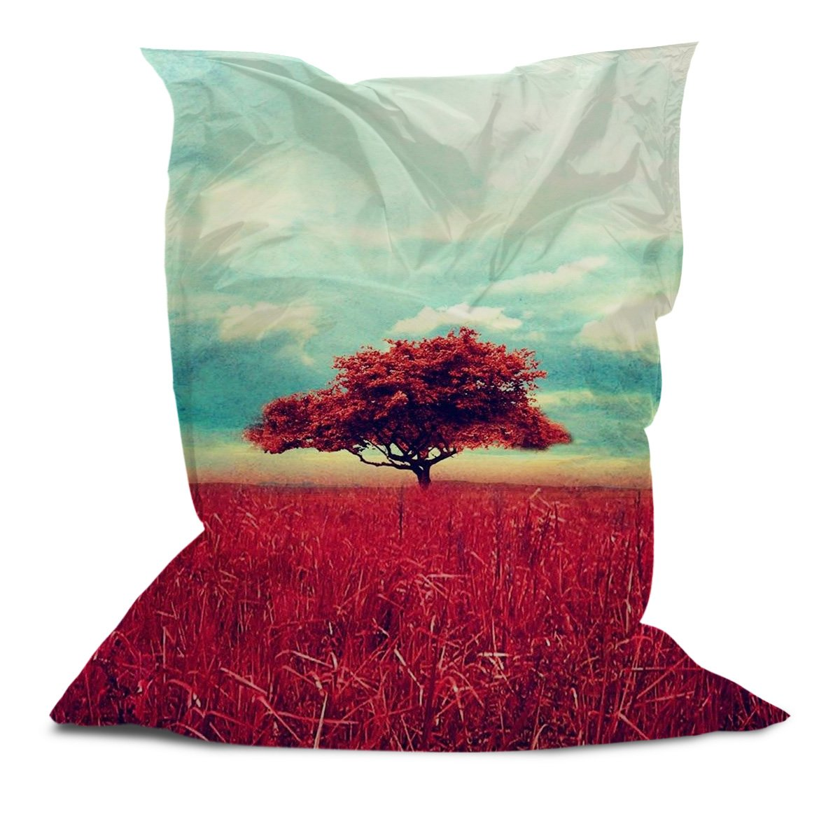 Branded Bean Bag with Printed Tree (5' x 4.4')