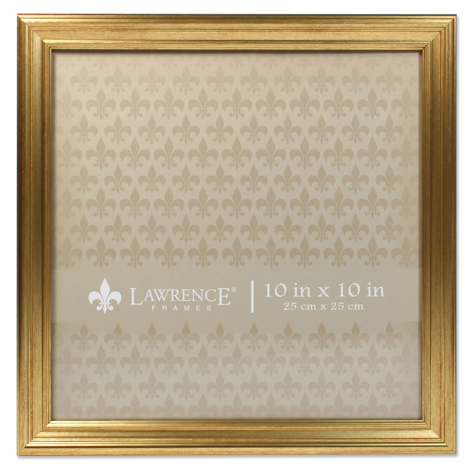 Amazon.com - 10x10 Sutter Burnished Gold Picture Frame -