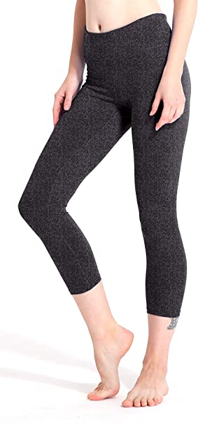 WANNEW Yoga Pants for Women High Waisted Compression Athletic Pants for Women 4-Way Stretch