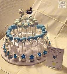 andrew james cake pop st nder f r 34 cake pops ideal zum pr sentieren ihrer cake pops auf. Black Bedroom Furniture Sets. Home Design Ideas