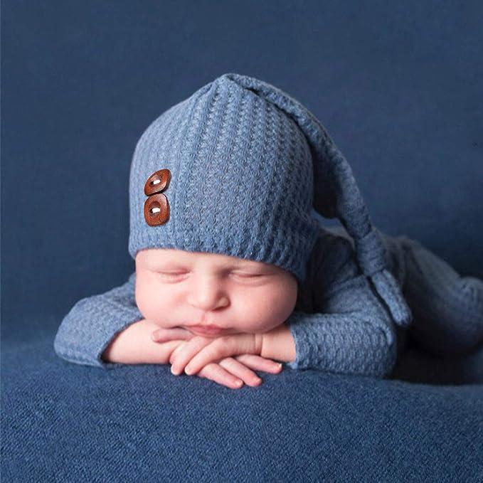 Newborn Photography Prop Button Overalls Pants Baby Photo-Shoot Romper  TEG