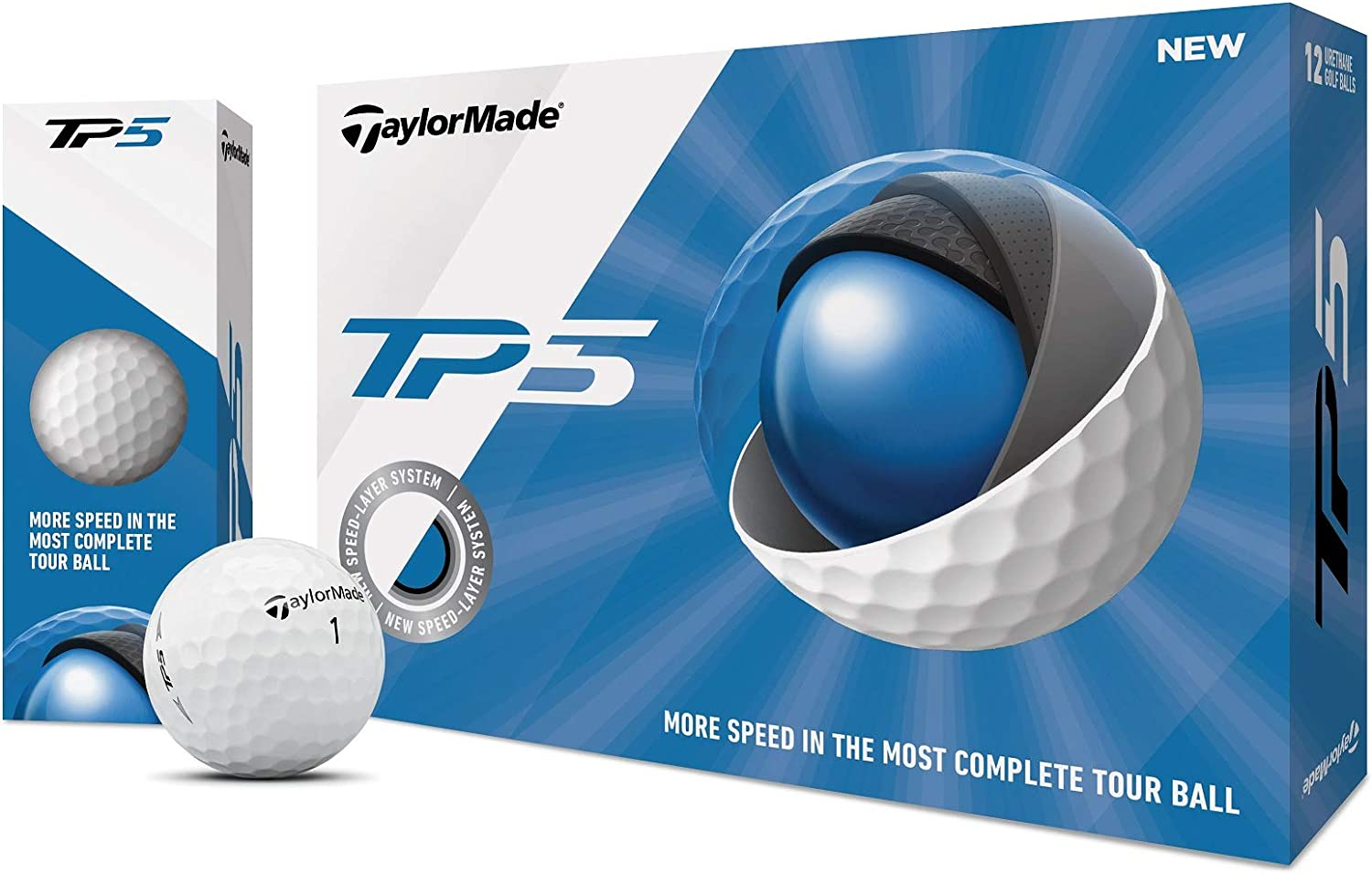 Taylormade TP5 vs Taylormade TP5X