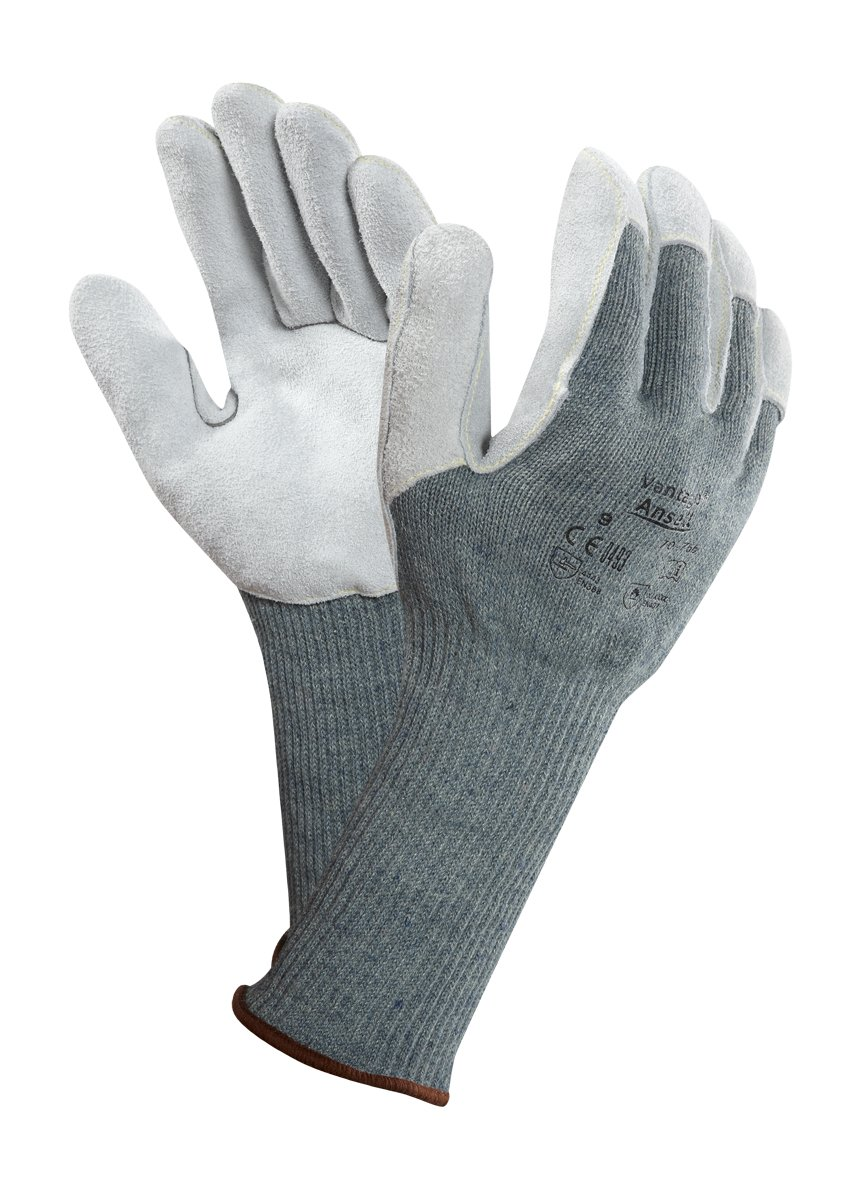 HyFlex 11541080 Gloves Size 8 Cut and Mechanical Protection Pack of 12 Grey