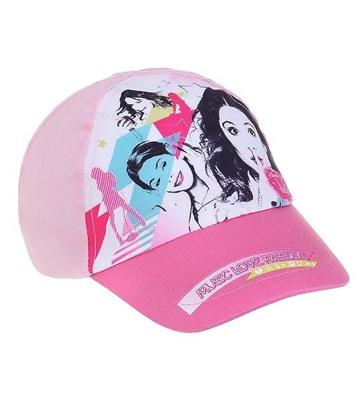 Disney Violetta Chicas Gorra de béisbol - fucsia - 54  Amazon.es  Ropa y  accesorios 319c76dc17e