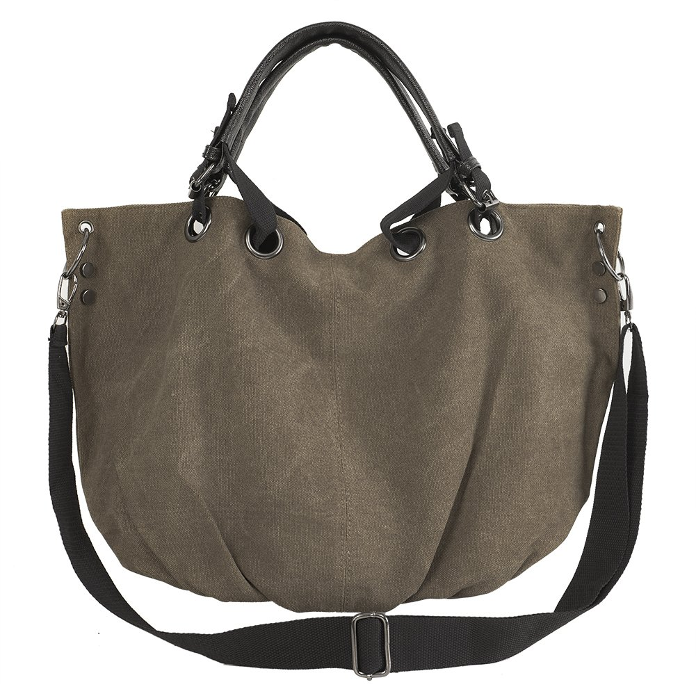 Casual Canvas Top-Handle Bag Shoulder Bags Women's Fashion Handbag Crossbody