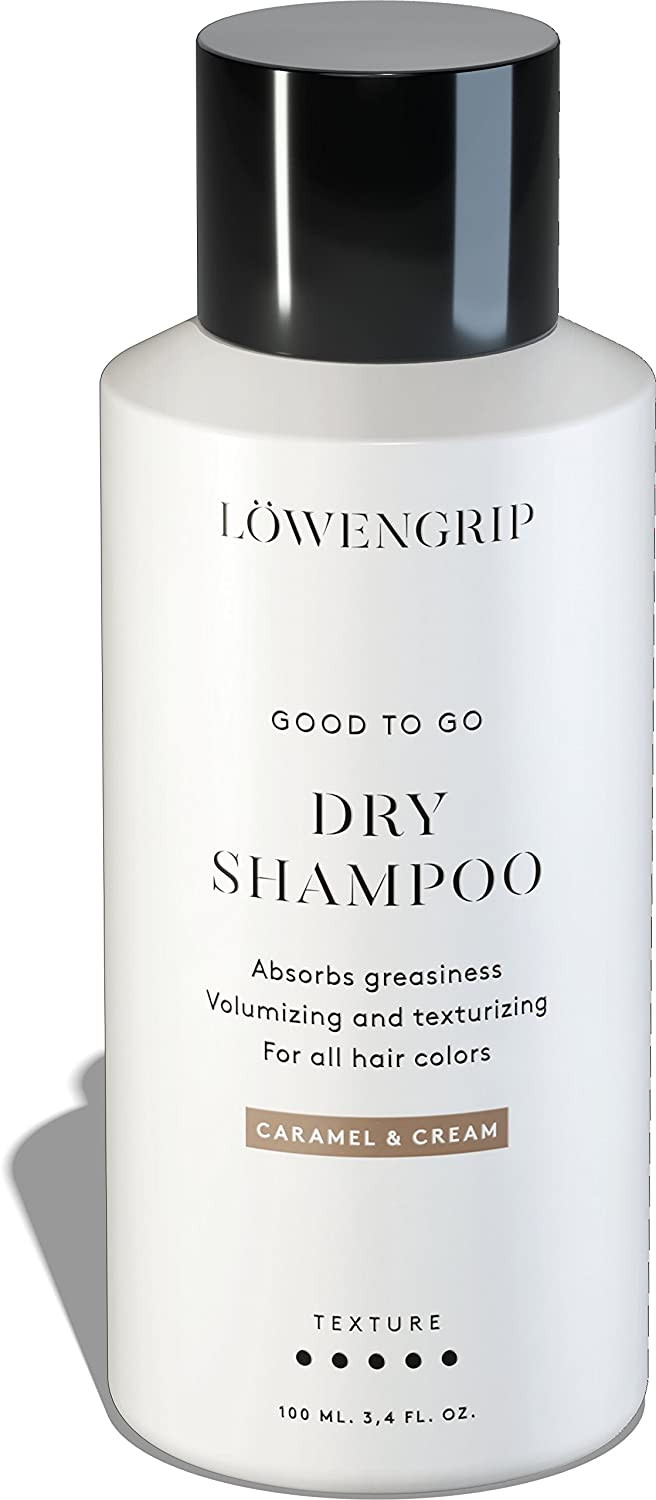 Löwengrip, Good To Go Dry, Volumizing Shampoo – Provitamin B5 & Soy Protein. Absorbs oil. Adds shine & texture. Sweden's Fastest Growing Beauty Brand. All hair colors. 250 ml 7350073862184