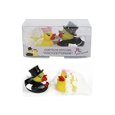 Ente Hochzeitspaar Squeaky Wedding Couple 2 Ducks, Paar: Home & Kitchen
