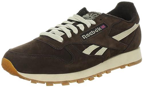 7c303d68b89 Reebok CL LTHR Vintage - Zapatillas Deportivas de Cuero Hombre ...