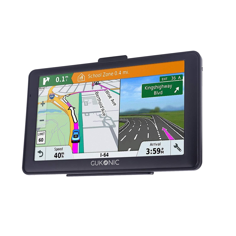 7 Pouces GPS Navigation Auto Camion Plein Europe Carte Mettre à Jour,Trafic à Vie (Via Smartphone),Assistance, Bluetooth AV-in Speedcam Piste Trafic à Vie (Via Smartphone) YISHIZHE