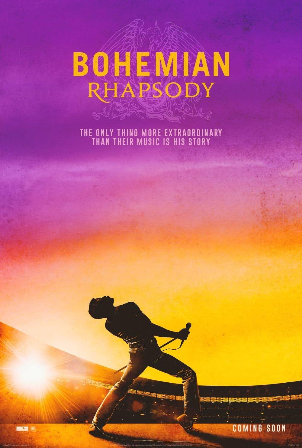 Poster Bohemian Rhapsody Movie 70 X 45 cm: Amazon.co.uk: Kitchen & Home
