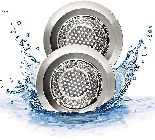 4Stk Abflußsieb Ablaufsieb Haarsieb Waschbecken Spülbecken Sieb Küche Badezimmer