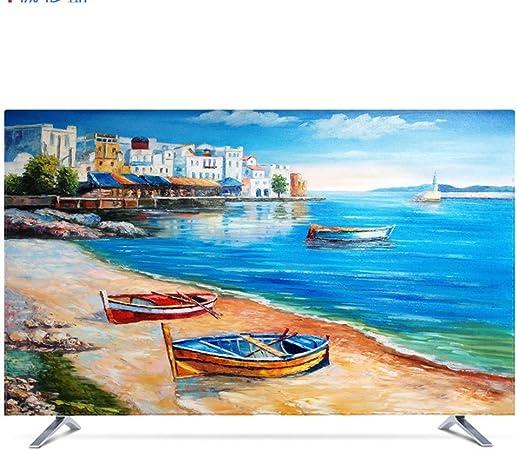 NACHEN Protector TV Universal Funda para Televisor LCD Resistente ...