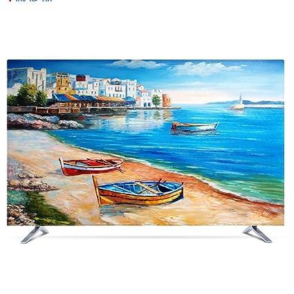 NACHEN Protector TV Universal Funda para Televisor LCD Resistente al Agua, Resistente al Polvo Protector de Pantalla, Compatible con Soportes de Mesa y Pared (Color 8D, 42): Amazon.es: Hogar