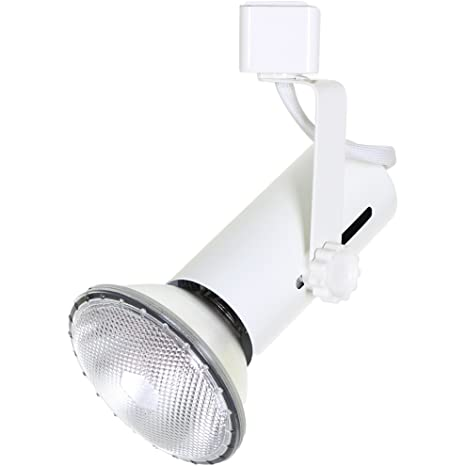 Direct-Lighting 50007 White Universal Line Voltage Track Lighting Head
