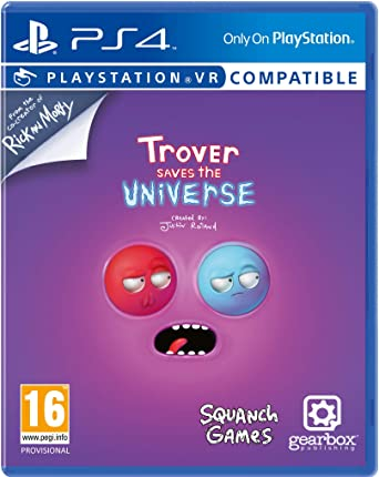 Trover Saves The Universe (PS4) (PS4): Amazon co uk: PC & Video Games