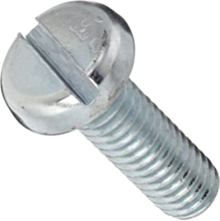 Steel Pan Head Machine Screw Meets ASME B18.6.3 Fully Threaded 3//4 Length Import #4 Phillips Drive 5//16-18 Thread Size Pack of 50 Black Zinc Plated