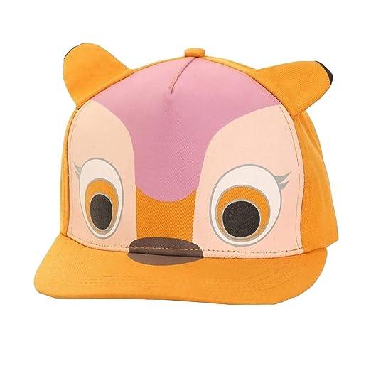 Childrens/Kids 3D Animal Design Flat Peak Snapback Baseball Cap (22 Inches) (