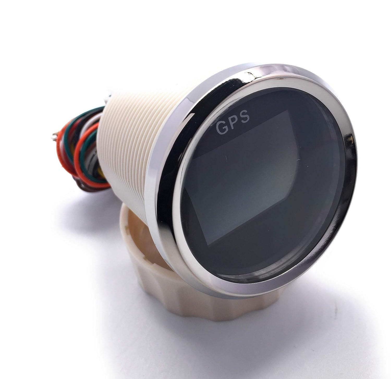 52mm ELING Digital GPS Speedometer Adjustable Odometer Trip Meter For Boat Yacht Motorcycle Car 2 inches