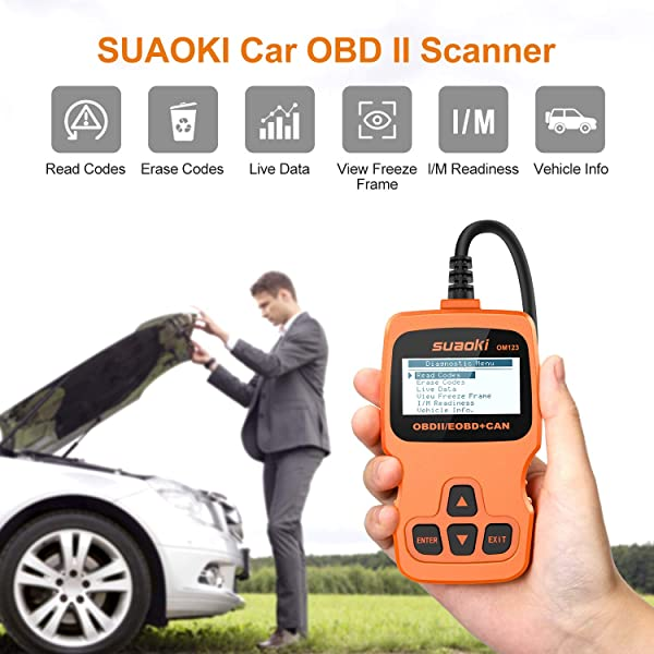 SUAOKI OM123 is a Car OBD II Scanner