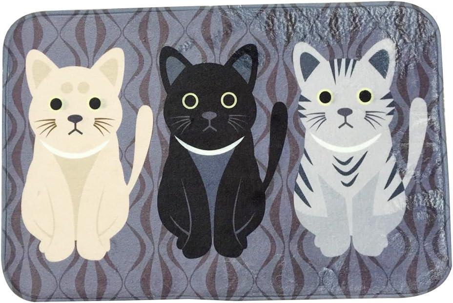 Doormat Cat Mat Embossed drawing