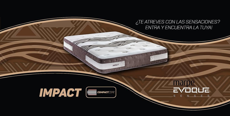 Marpe Colchón Impact de Gran firmeza y visco FormAdapt® (160X180): Amazon.es: Hogar