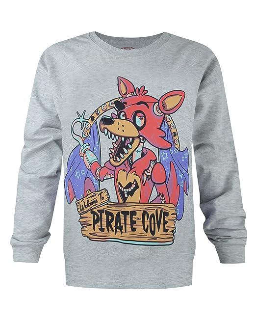 Niño - Official - Five Nights At Freddy's - Camiseta (5-6 Años)