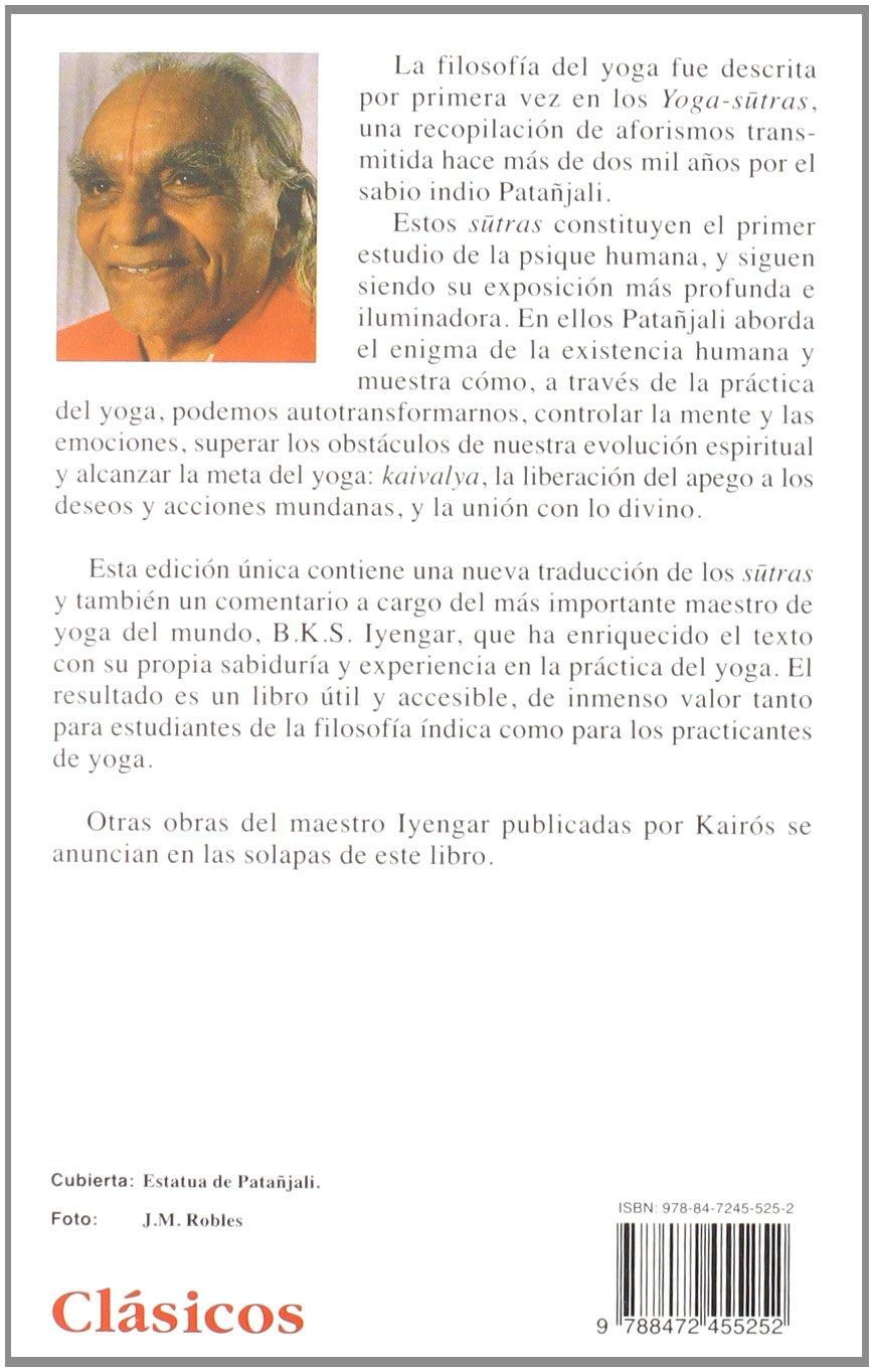 Luz sobre los yoga sutras de Patanjali (Spanish Edition ...