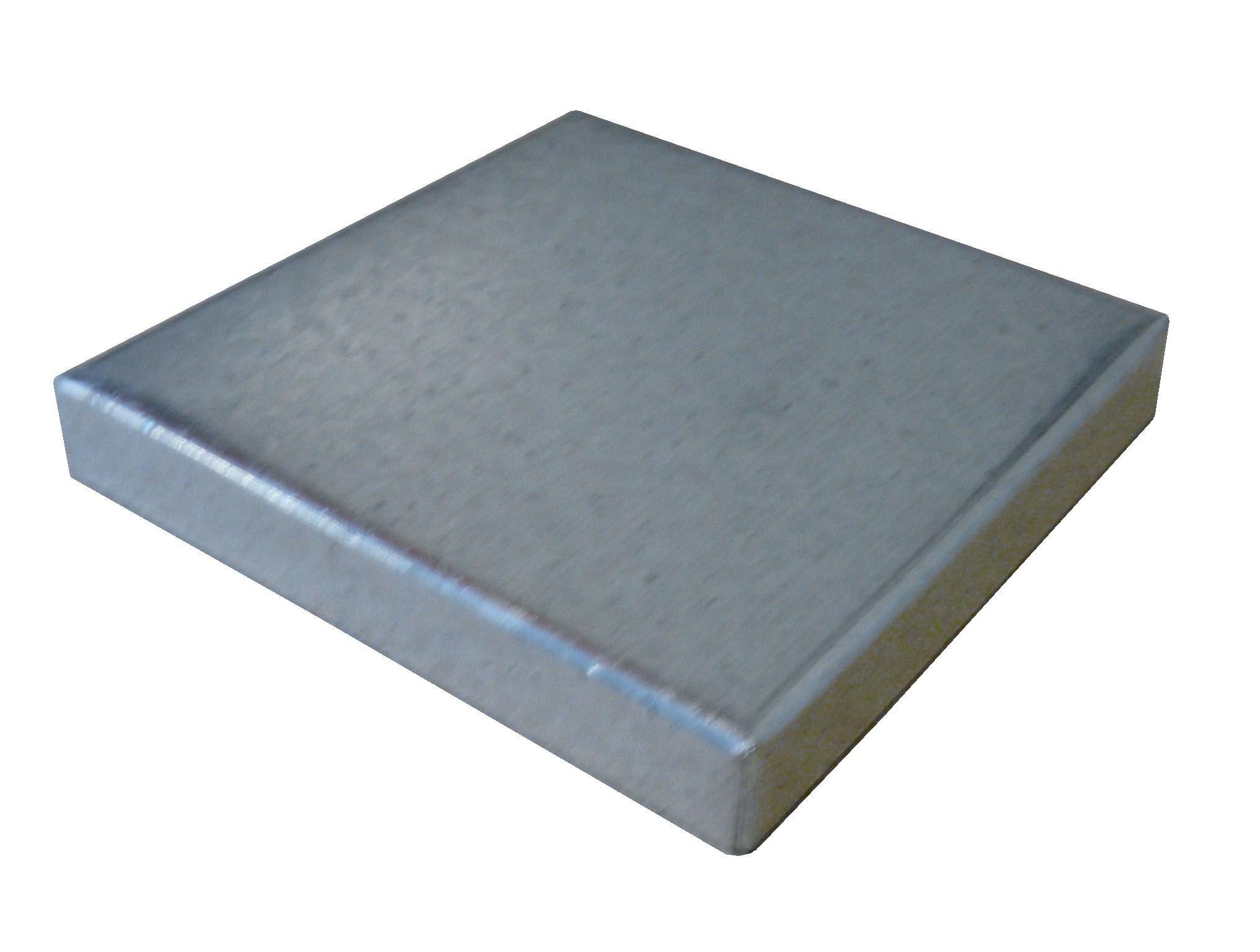 5 1/2'' X 5 1/2'' Low Profile Galvanized Post Cap