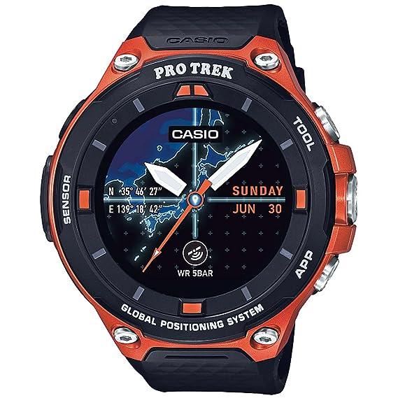 5e90e8d40270 Casio Pro Trek - Reloj inteligente de resina para exteriores