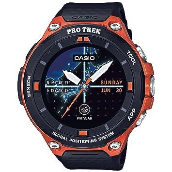 945283bf89a Smartwatch Casio Wsd-f20-rgbau (Orange)  Amazon.com.br  Eletrônicos