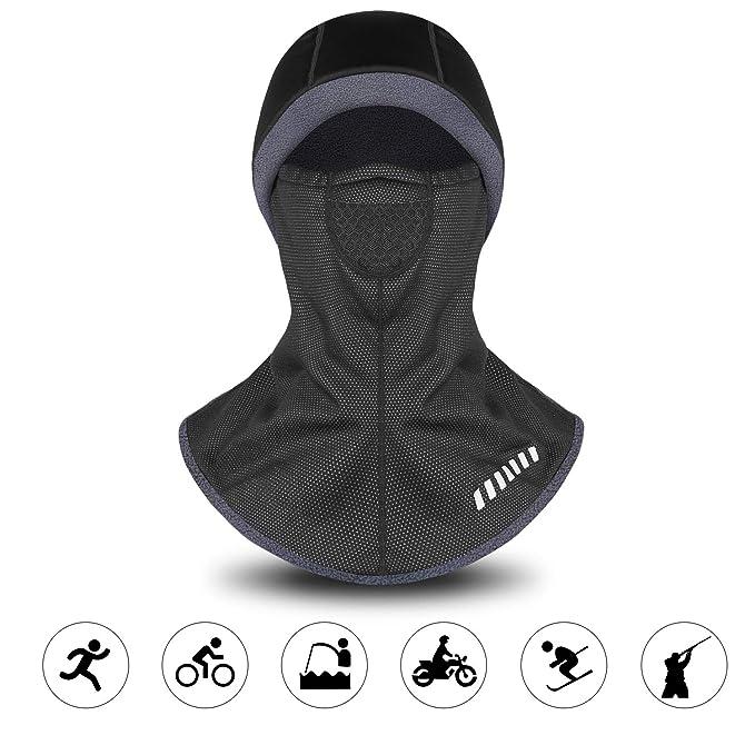 LAMEDA Men s ColdGear Winter Ski Mask Windproof Warm Balaclava Hood ... 084de1d9d