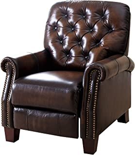 Abbyson Camden Hand Rubbed Top Grain Leather Pushback Recliner  sc 1 st  Amazon.com & Amazon.com: Relax A Lounger RR-ADRL35255 Anderson Recliner ... islam-shia.org