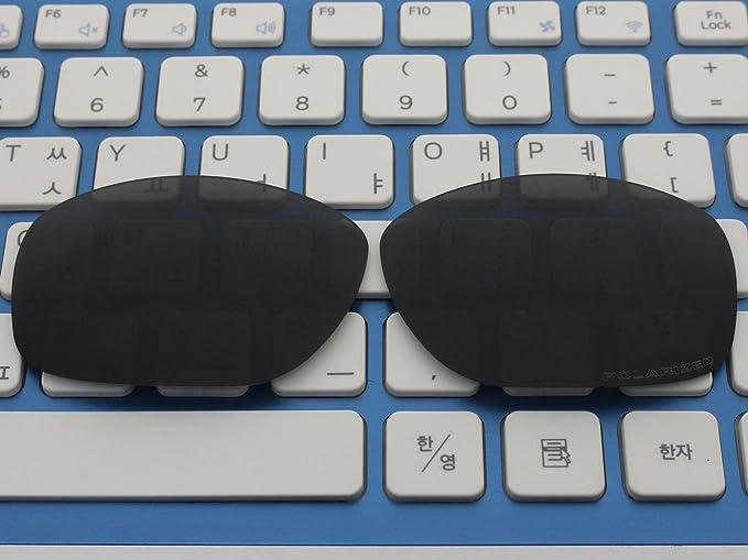 ACOMPATIBLE Ersatz-Objektive für Oakley 5kariert NEU (Jahr 2013) Sonnenbrille Oo9238, Fire Red Mirror - Polarized, S