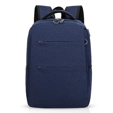 FANDARE Mochila para portátiles, 15.6 Pulgadas Mochila USB Mochila de Portátil Bolso, Impermeable Bolsa Viajes para Colegio Viaje Negocios, ...